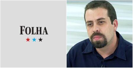 Manchete da Folha de S.Paulo sobre patrimônio de Boulos viraliza na web