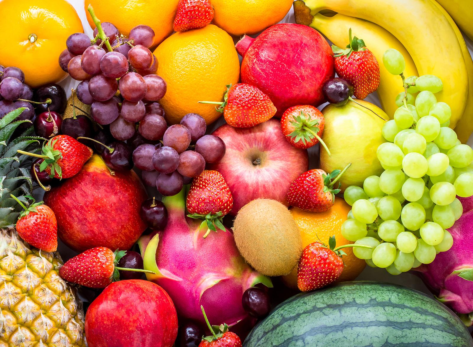 As frutas contribuem para a saciedade, funcionamento intestinal e melhor controle da glicemia e colesterol