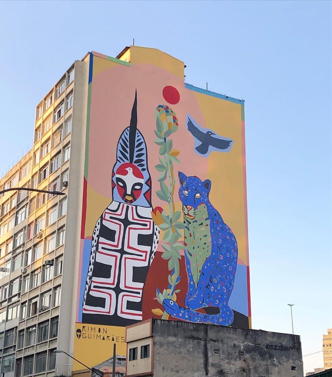 Projeto da Converse foi responsável por novo mural em São Paulo feito com tinta que ajuda a limpar o ar