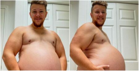 Danny, homem trans grávido, contou também como foi o período da gestação durante a pandemia