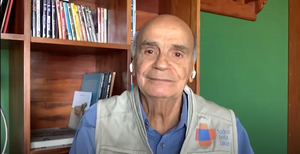 'Ainda não é hora de relaxar', diz o Dr. Drauzio Varella sobre as medidas de prevenção à Covid-19