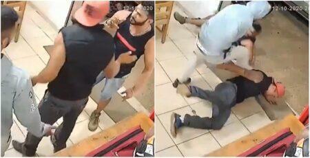 Contra dois, motoboy reage à ameaça e bate em agressores em MG
