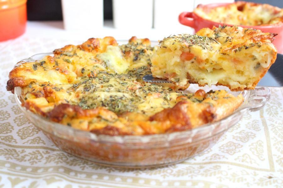 Torta pão de queijo sem glúten