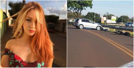 Jovem morre em acidente entre moto e carro em avenida de Jaú (SP)