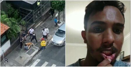 Jovem negro e gay é agredido por três homens no centro de SP
