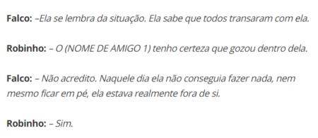 Robinho nega as acusações