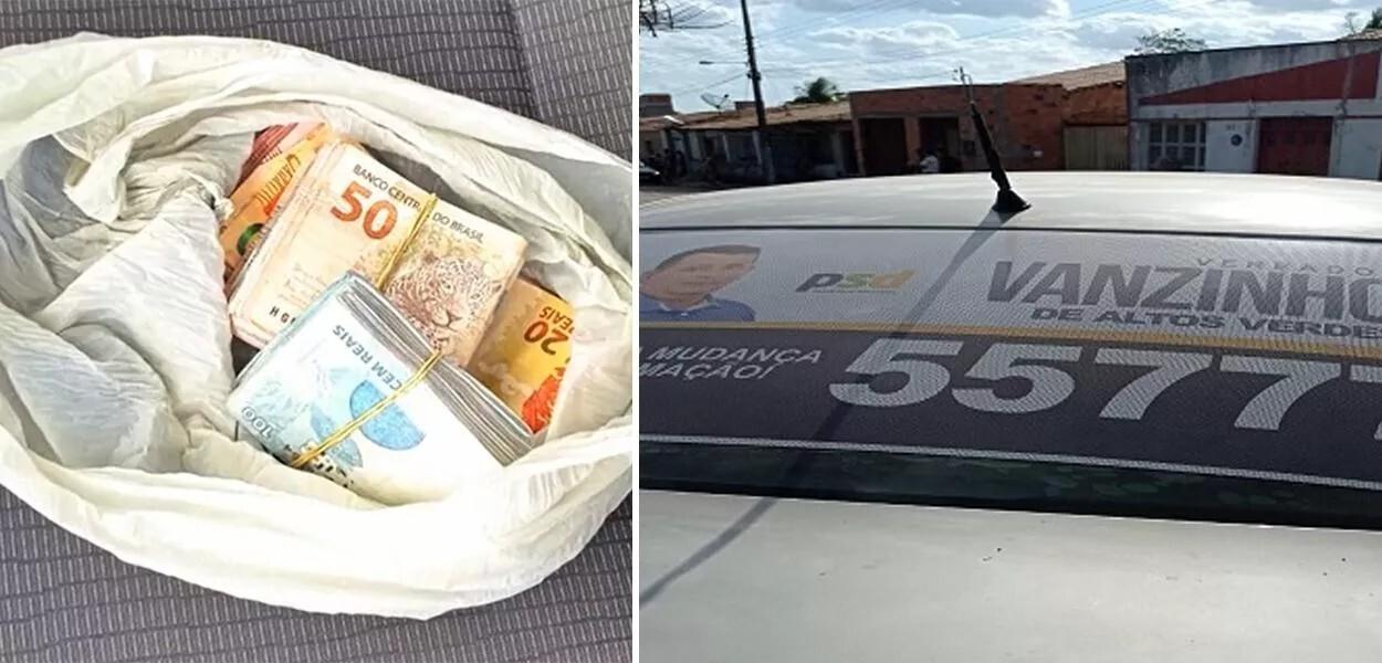 dinheiro na cueca