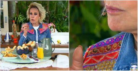 Ana Maria Braga inicia 'Mais Você' sussurrando e mastigando na Globo
