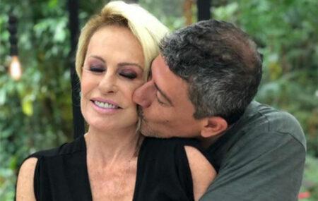 Ana Maria Braga mostra momentos inéditos ao lado de Tom Veiga