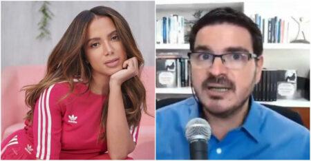 Anitta detona Rodrigo Constantino após fala sobre o caso Mari Ferrer