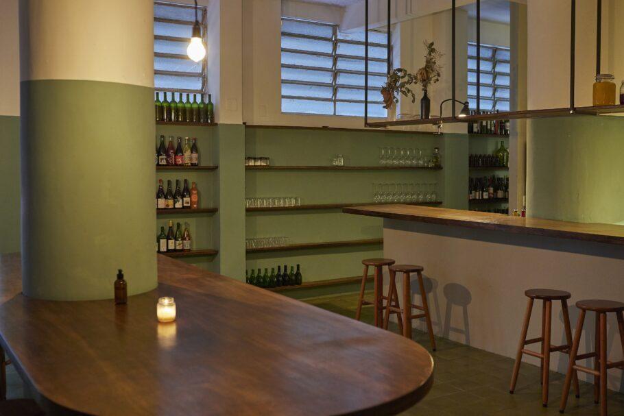 Bar e restaurante fica na Vila Buarque