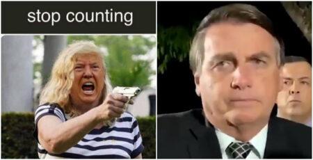 bolsonaro trump memes eleições eua