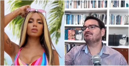 Após demissões, Constantino chora ao falar de críticas de Anitta