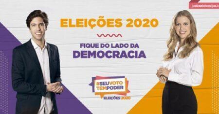 Caio Coppolla e Gabriela Prioli aparecem em campanha do TSE e web critica