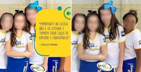 Escola de Jundiaí (SP) esconde menina negra de propaganda nas redes