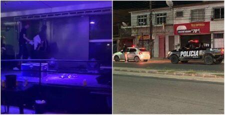 Aglomeração: Polícia intervém festa de forró em Fortaleza