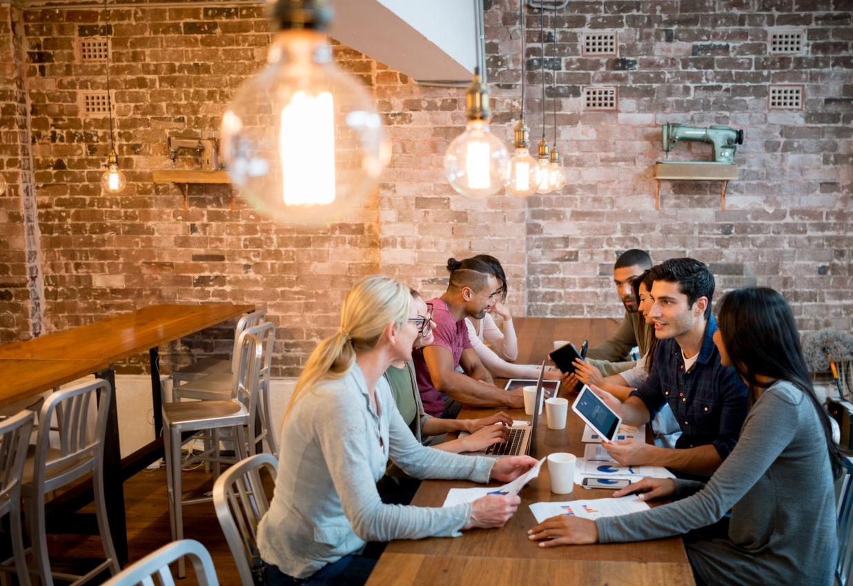 jovens empreendedores