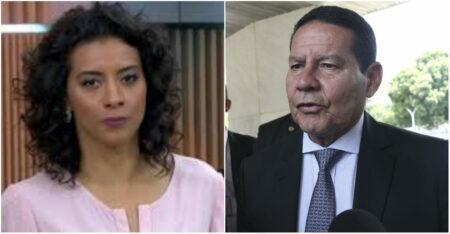 Jornalista da GloboNews  Mourão
