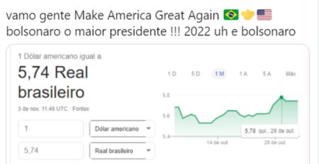 Brasileiros pedem voto a Trump e viram motivo de chacota no web