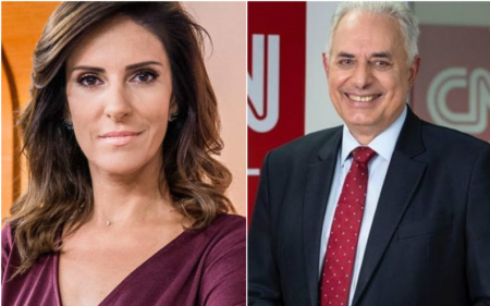 Monalisa Perrone e William Waack