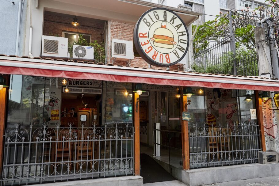 Fachada do Big Kahuna Burger