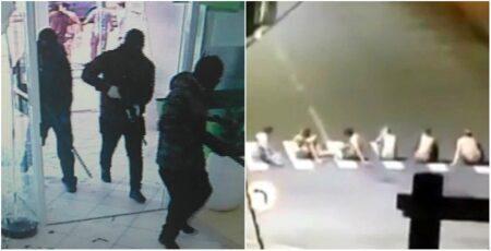 Criminosos assaltam bancos e fazem reféns em Criciúma (SC)