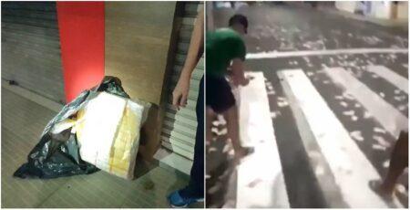 Vídeo: Quatro homens são presos com R$ 810 mil em Criciúma (SC)