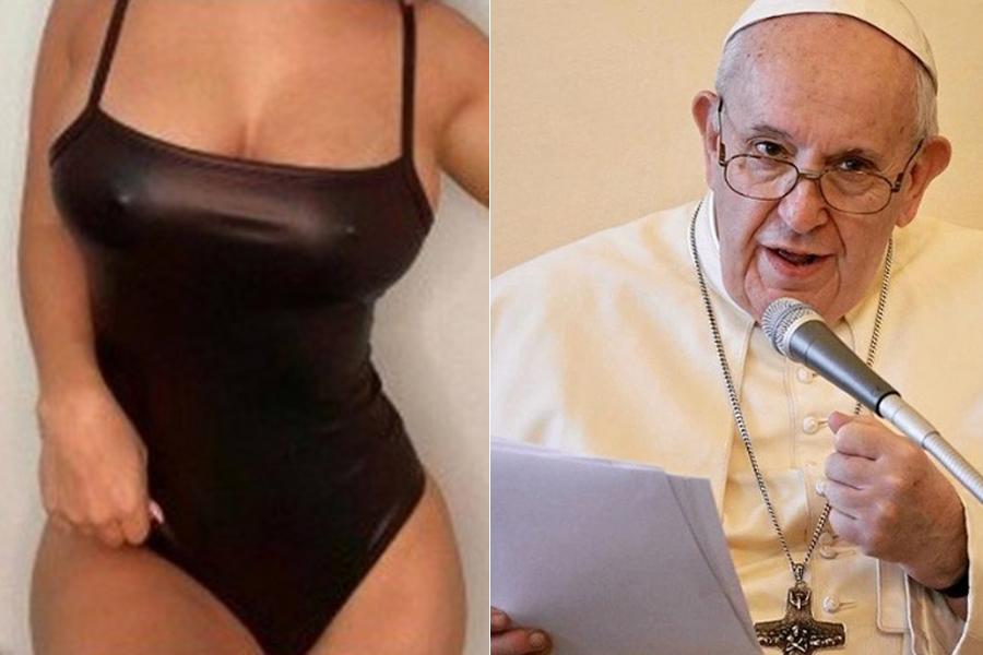 papa francisco curte foto sensual