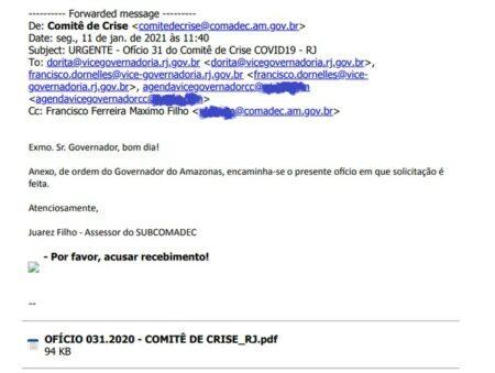 e-mail errado