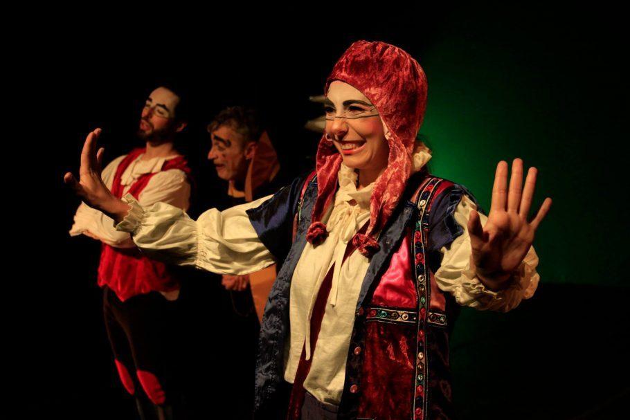 Peça O Inventor de Sonhos, A Peste - Cia Urbana de Teatro, Festival de Férias do Teatro Folha