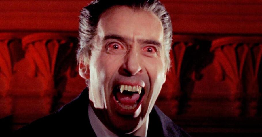 Estúdio Hammer - cena de O Vampiro da Noite