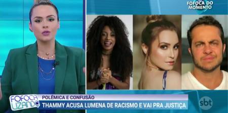 Ana Paula Renault rebate postura de Thammy com Lumena: 'Racismo reverso não existe'