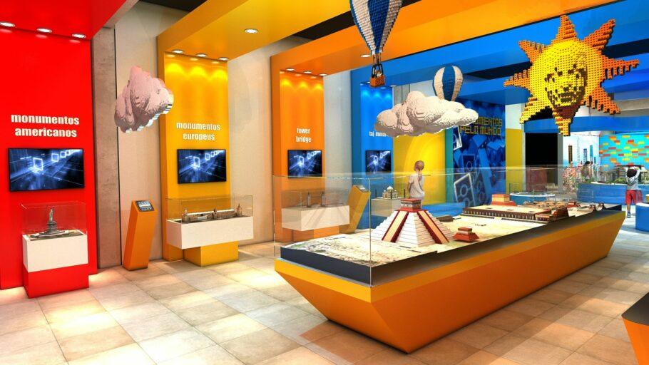 Exposição Volta ao Mundo - Museu da Imaginação