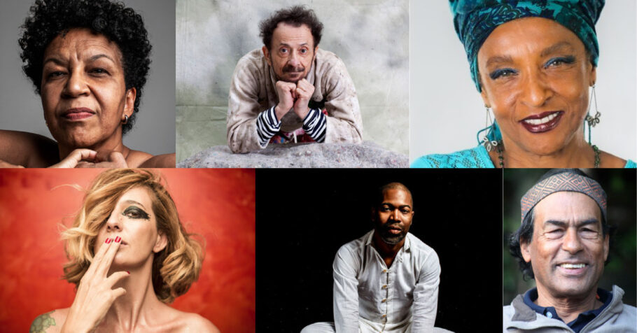 Festival Cajubi - Juçara Marçal, Tom Zé, Elisa Lucinda, Letrux, Tiganá Santana e Ailton Krenak