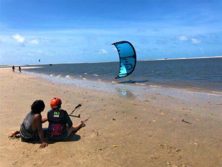 Kite na areia @entaovah