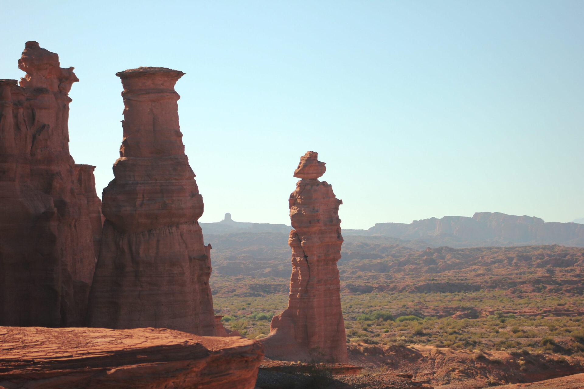 Vista do Parque Nacional Talampaya