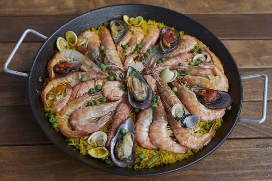 Paellas Pepe serve deliciosas paellas artesanais em várias versões, os Achados Elo da casa