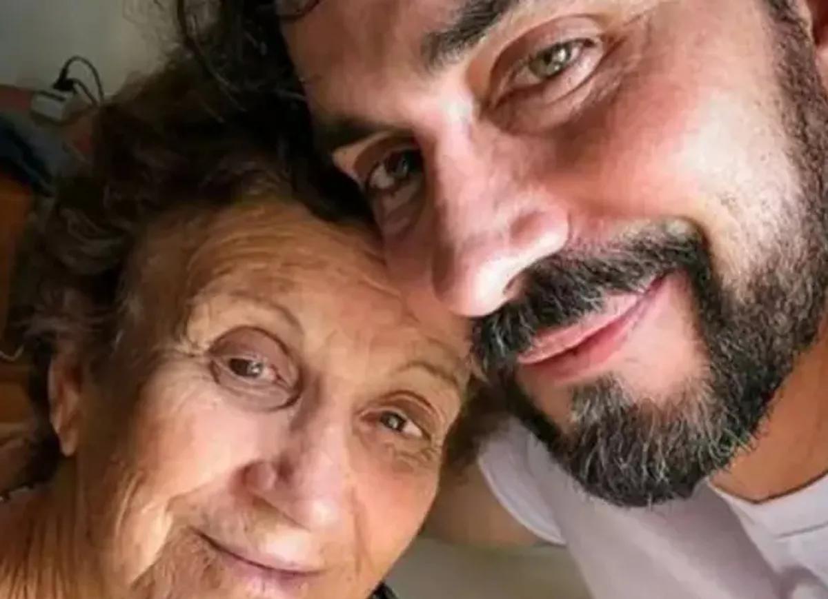 Padre Fábio de Melo e sua mãe, Dona Ana Maria Melo