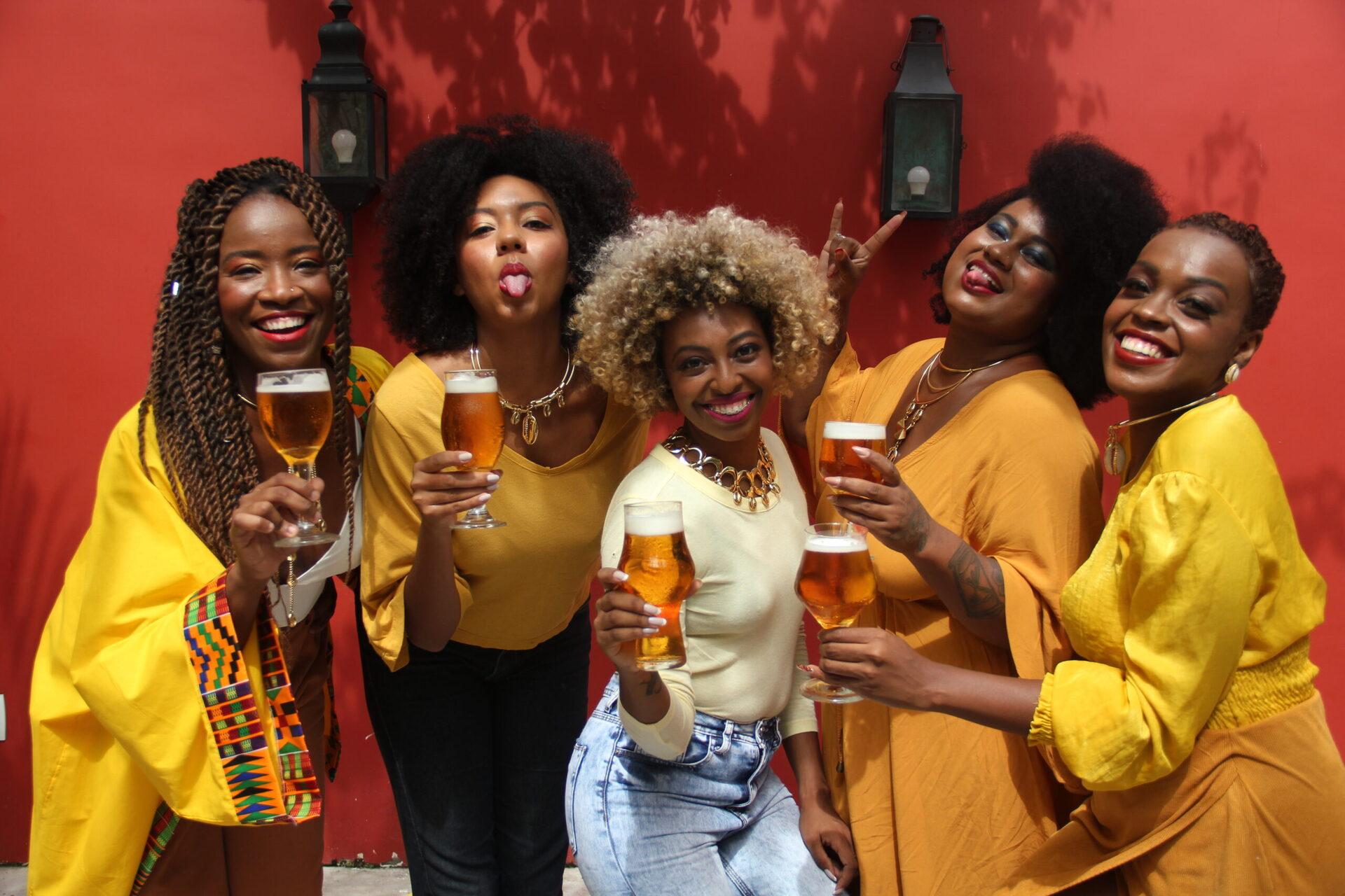 cerveja mulheres negras