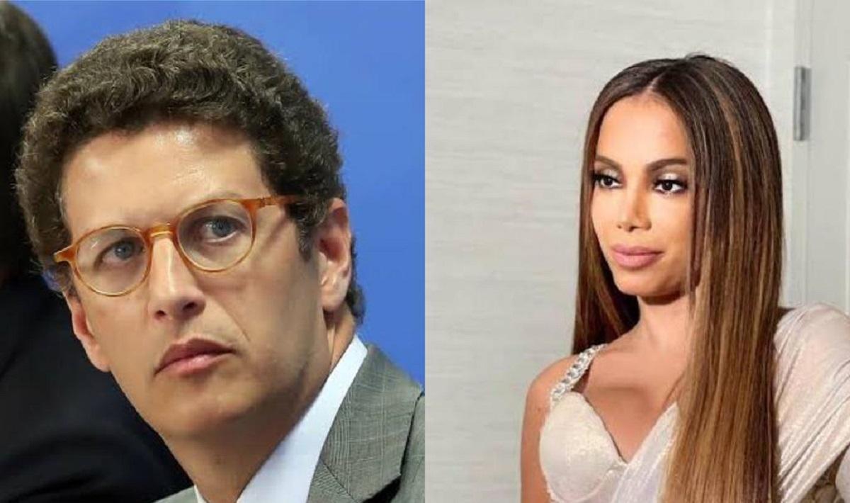 Após pedir saída de Ricardo Salles, Anitta é chamada de 'Teletubbie' pelo ministro