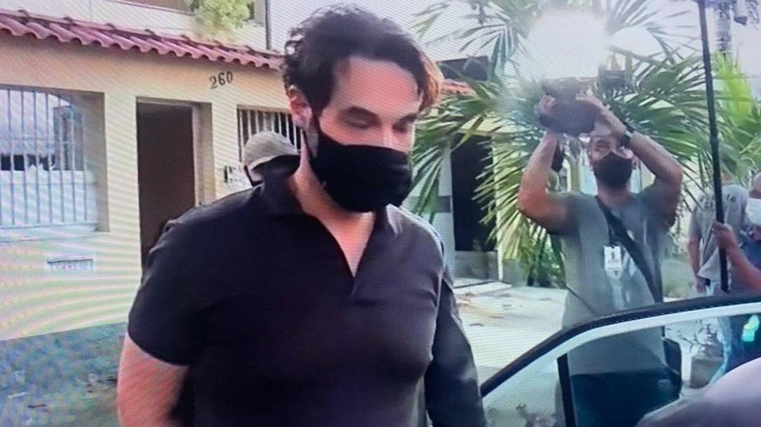 Dr Jairinho ao ser preso