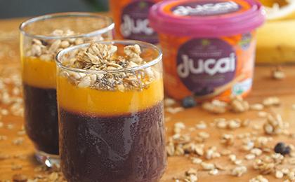 Mousse de Juçaí é o equilíbrio perfeito entre o doce e o azedo