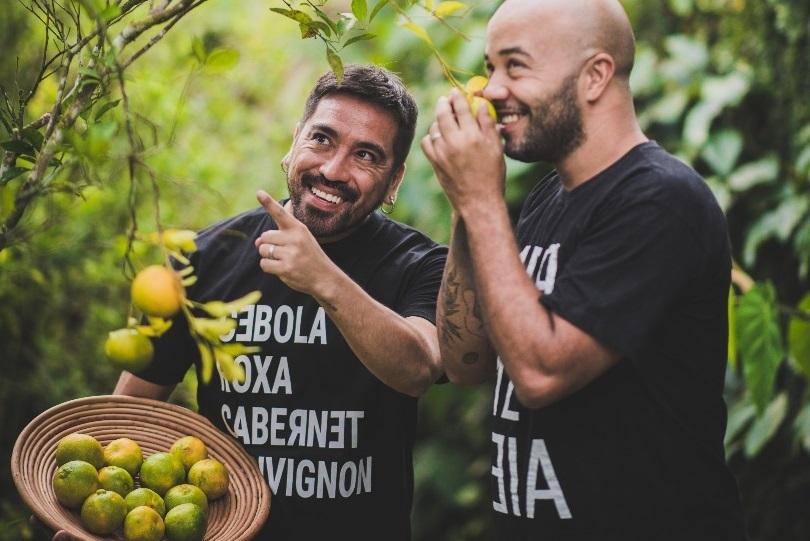 O chileno Mauro Concha e o brasileiro Thiago Carmo transformaram o amor pela culinária em geleias únicas