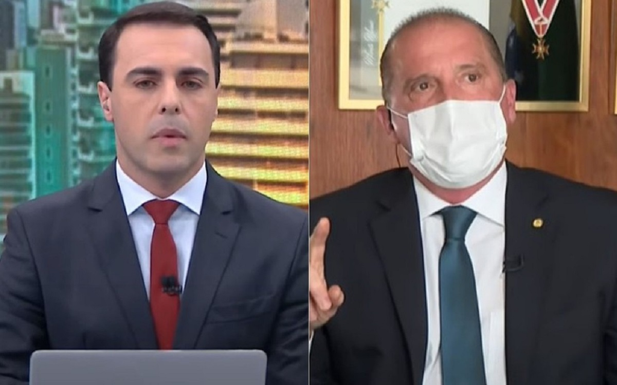Ministro de Bolsonaro bate boca com jornalista da CNN ao ser desmentido ao vivo
