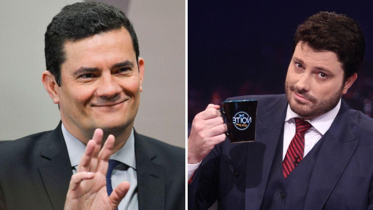 Sergio Moro e Danilo Gentile