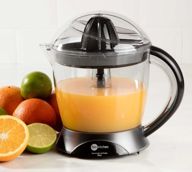 Espremedor de Frutas Max Preto Fun Kitchen - R$ 49,99