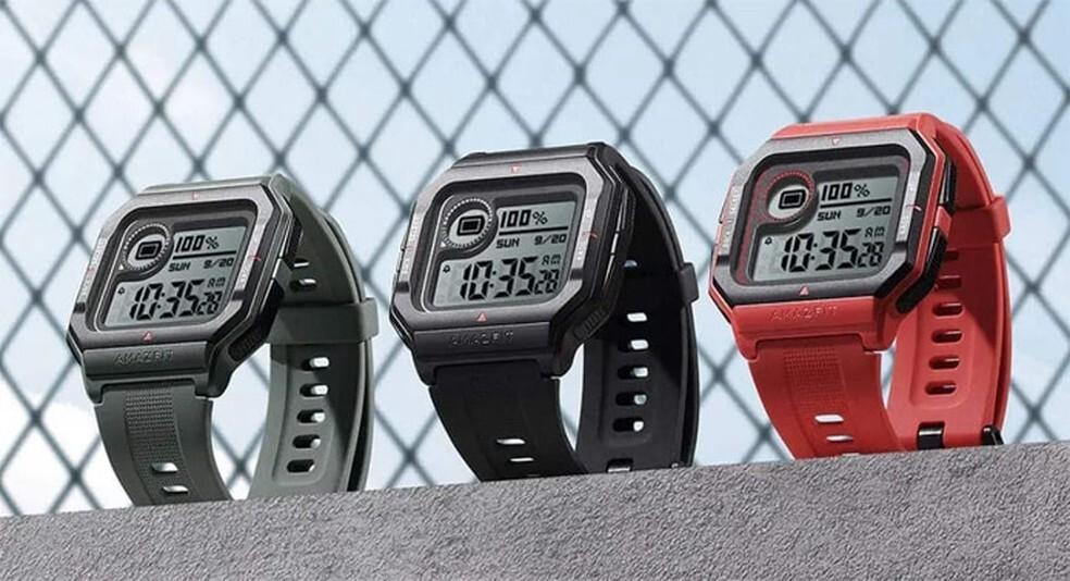 O Amazfit Neo teve seu design retrô inspirado no clássico Casio G-Shock