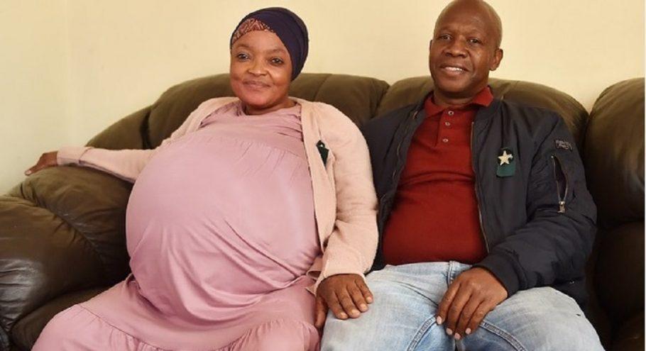 mulher gravida de 10 filhos