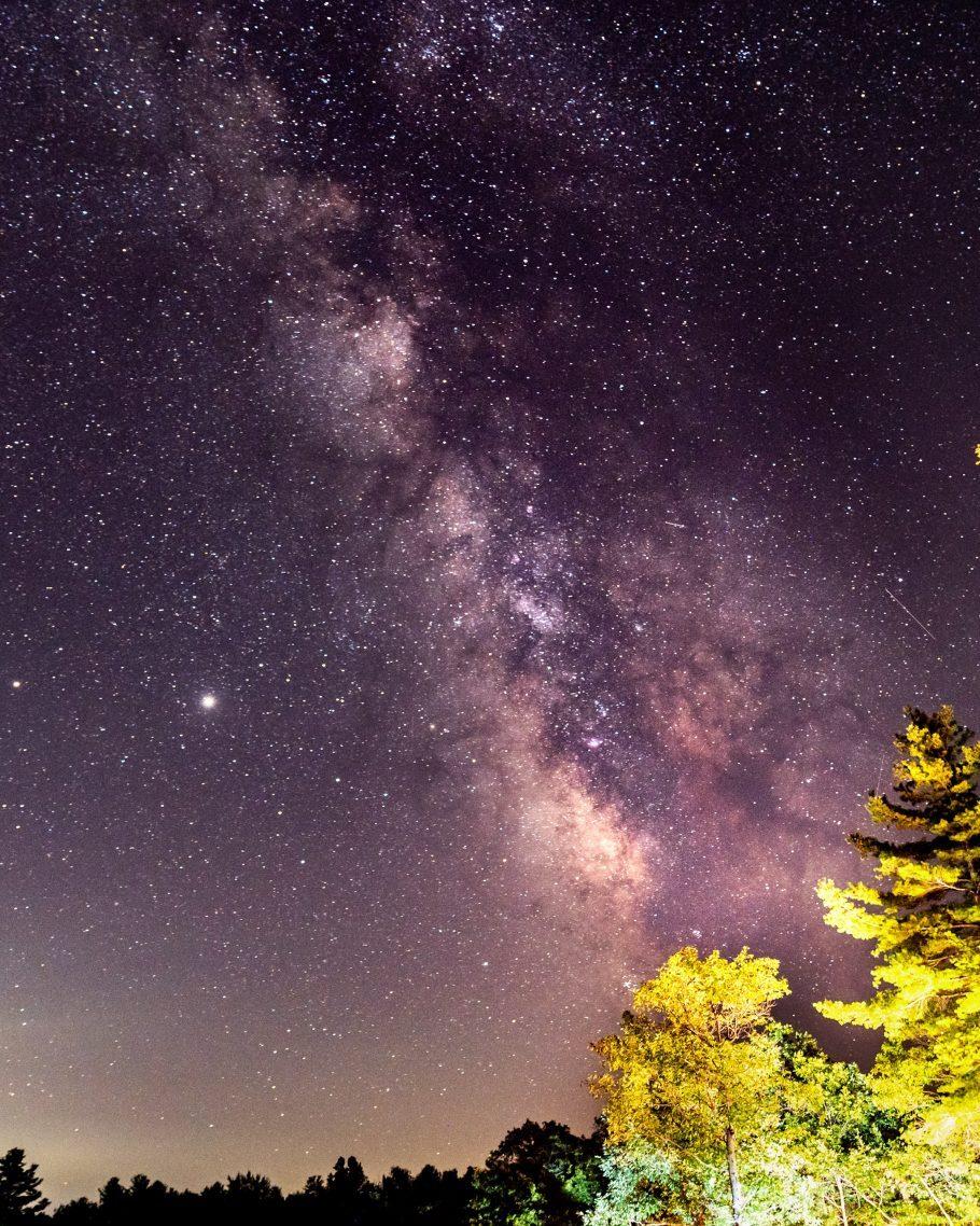 estrelas no céu de Nova York
