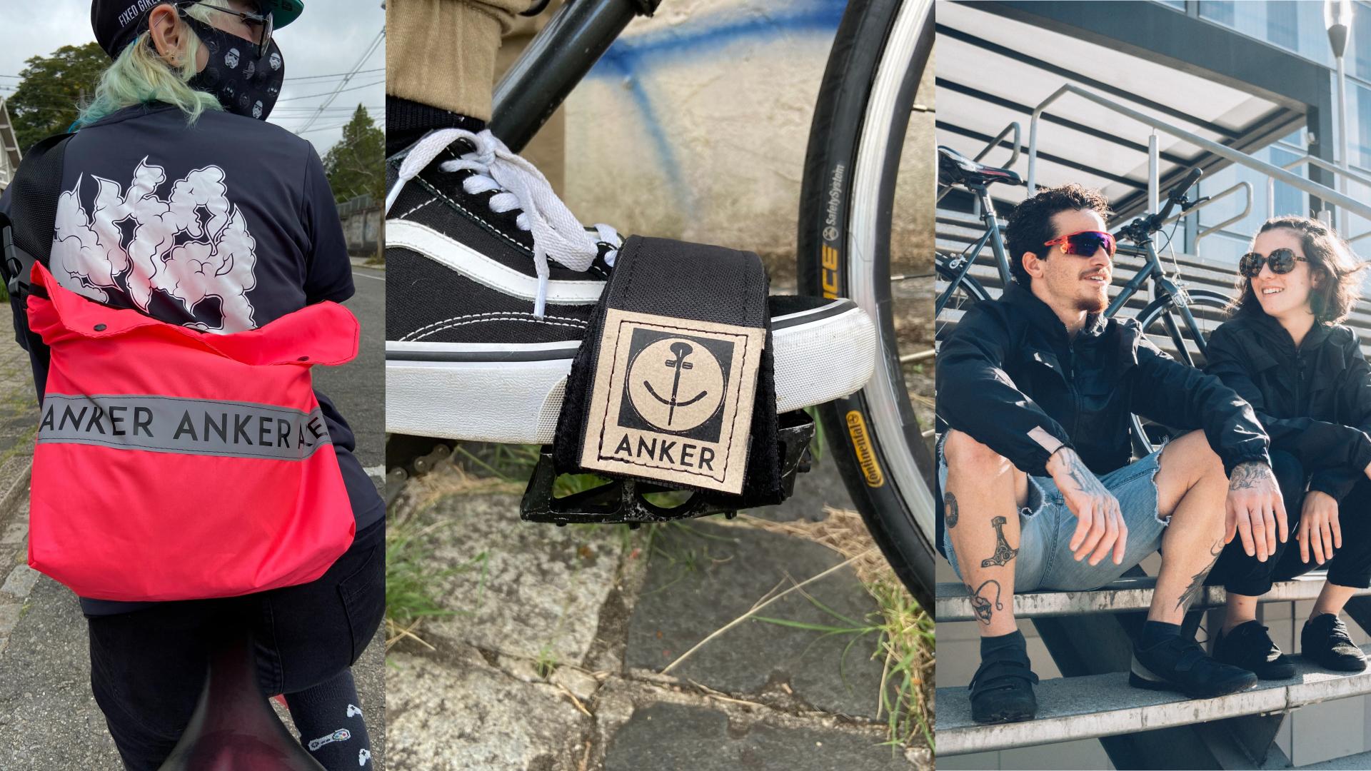 Quem procura jaquetas corta-vento, meias, pochetes, firma-pés coloridos e outros modelos de mochila e bolsas de guidão, precisa conhecer a Anker Straps